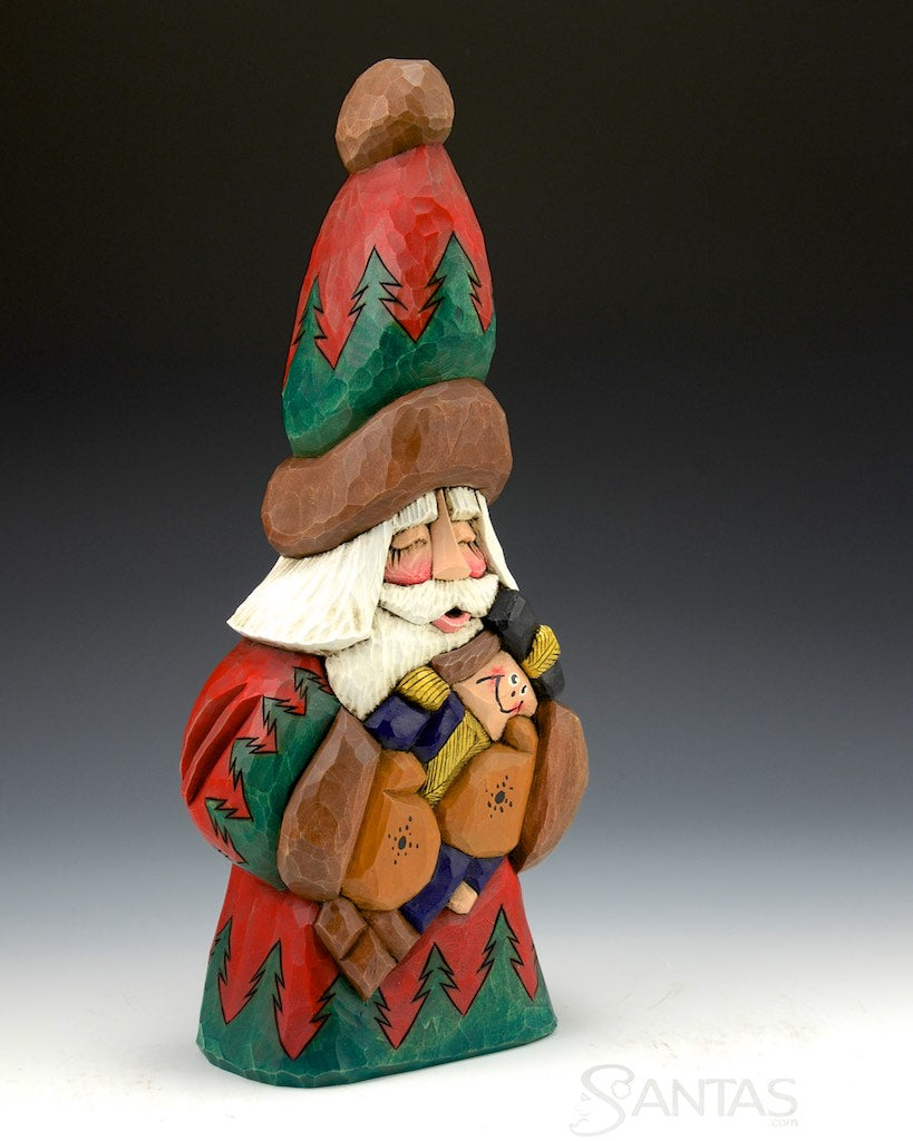 Dave Francis Santa Claus Wood Carvings Santas Com