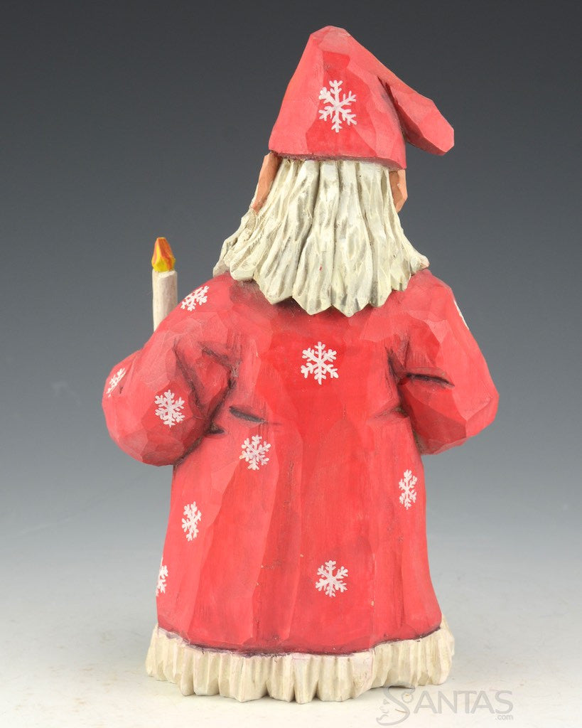 6272edc901 Russell Scott Nighty Night Santa Claus with Candle