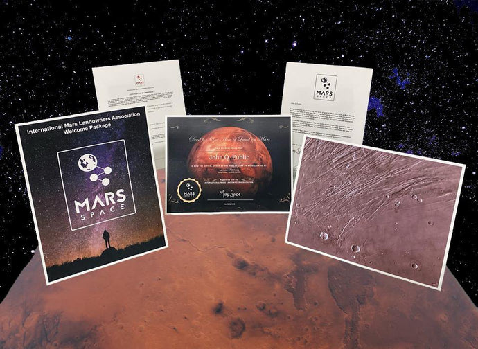 Land on Mars Digital Package - Mars Space