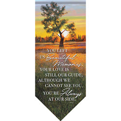 """In His Keeping"" Durasoft Banner Garden Flag"