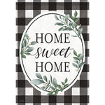 Buffalo Check Home House Flag