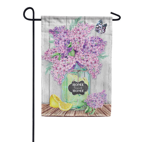 """Lilacs in a Jar"" Durasoft Flag"