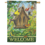 Butterfly Bed N Breakfast Durasoft House Flag