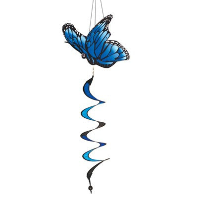 "Blue Morpho Theme 32"" Twister"