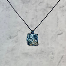 Load image into Gallery viewer, Reticulated Square Pendant
