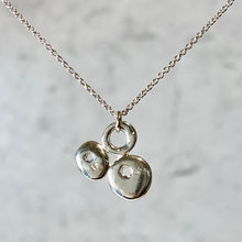Load image into Gallery viewer, Large Triple Luck Lucky Stone Necklace