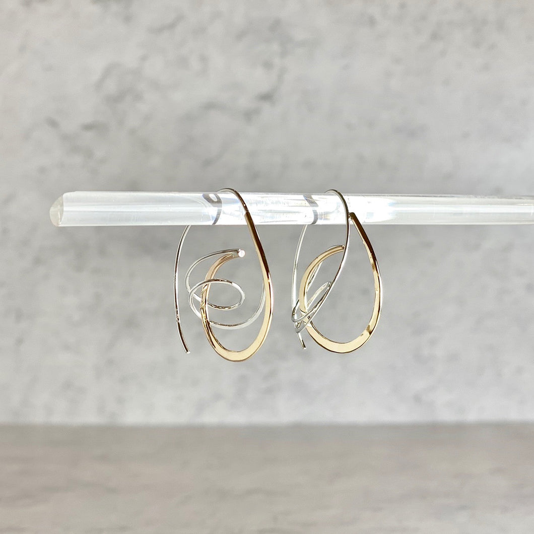 Ellipses Wrap Earrings