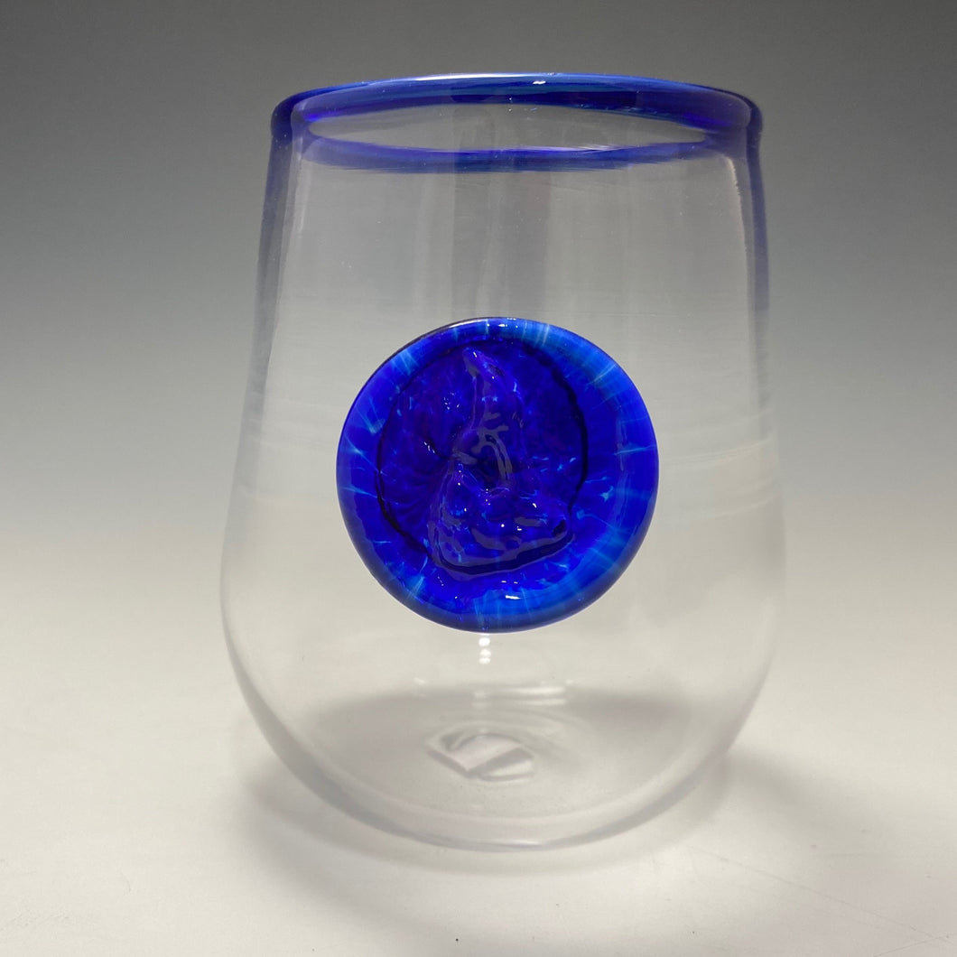 Block Island Stemless Wine Glass—No Foot