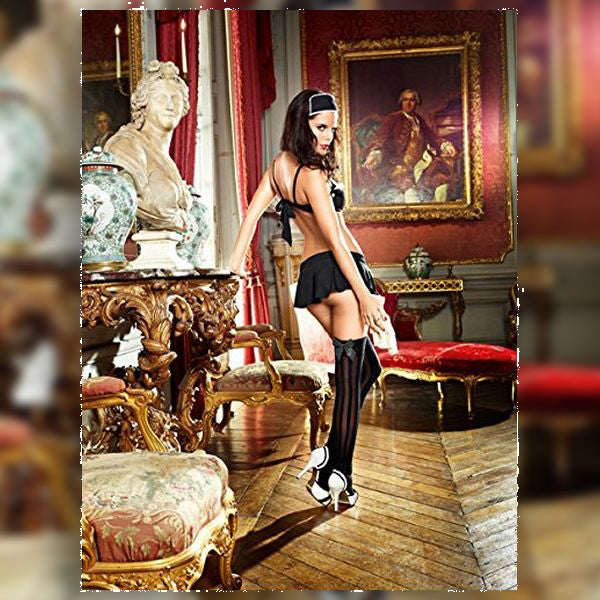 Dirty Laundry French Maid Set S/M Baci Lingerie BD1348