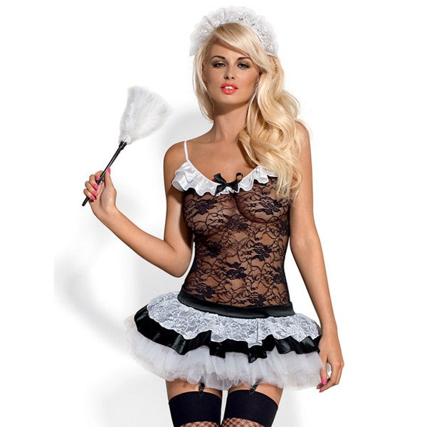 Housemaid Costume L/XL Obsessive 2944