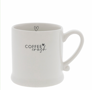Tasse COFFEE crush schwarz
