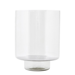 Laterne / Vase transparent