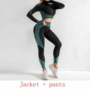 Seamless Sportswear Workout Suit Set