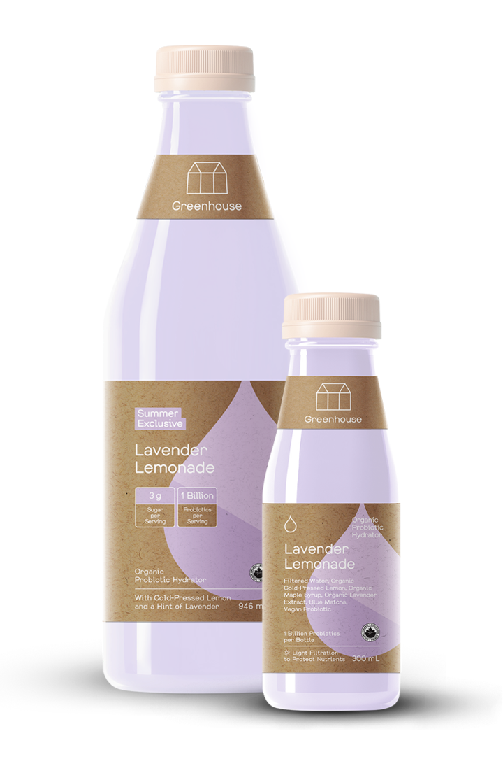 Greenhouse Juice - Lavender Lemonade 300ml