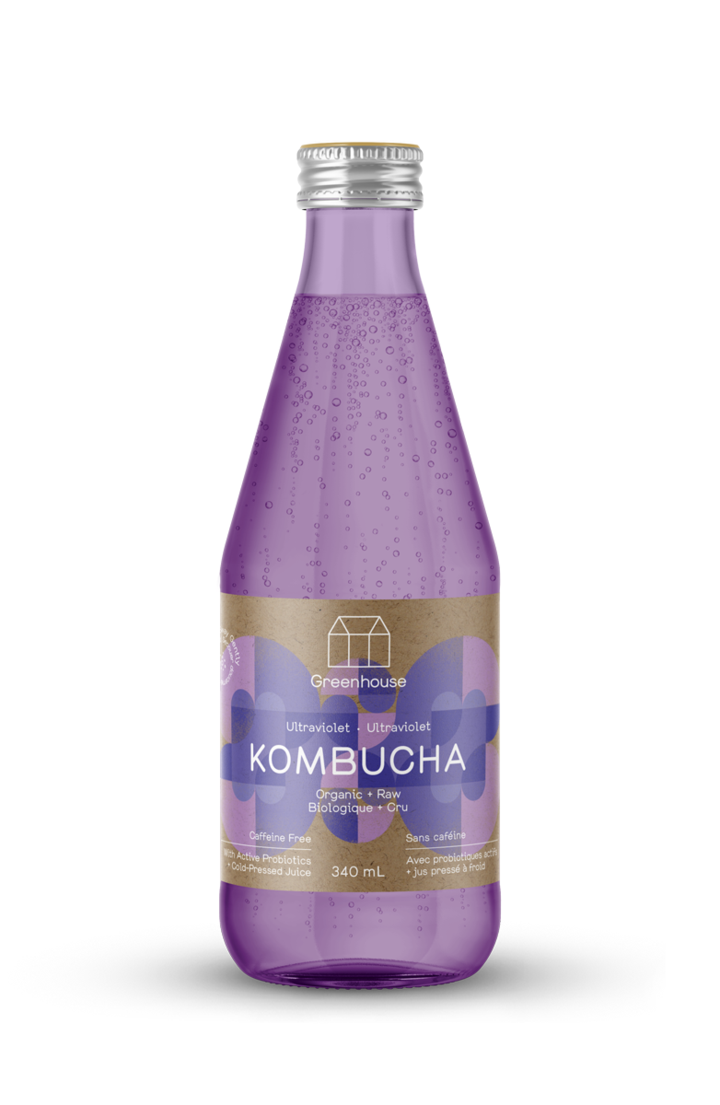 Greenhouse Juice - Ultraviolet Kombucha 340ml