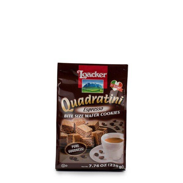 Quadratini Espresso Wafers