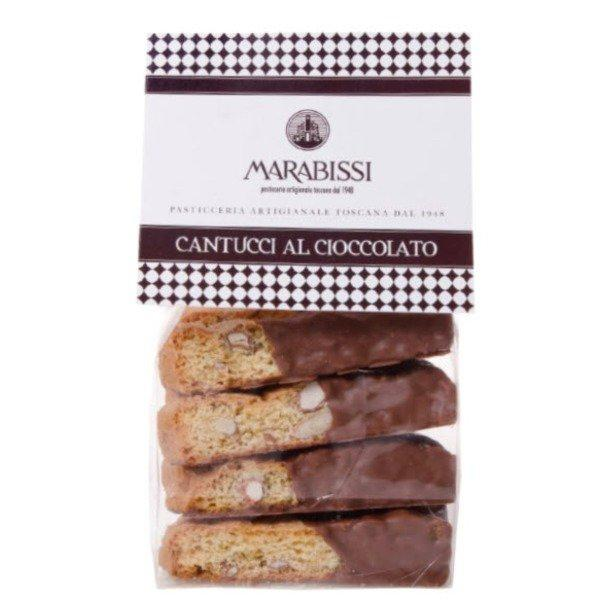 Cantucci Almond Cookies With Chocolate 150gr