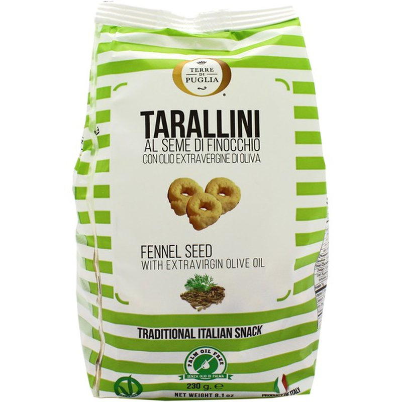 Tarallini - Fennel Seed With Extra Virgin Olive Oil