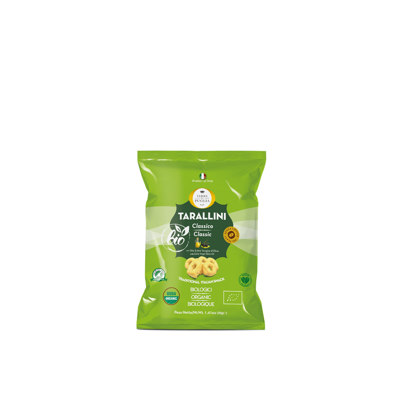 Organic Taralli With Extra Virgin Olive Oil 200gr