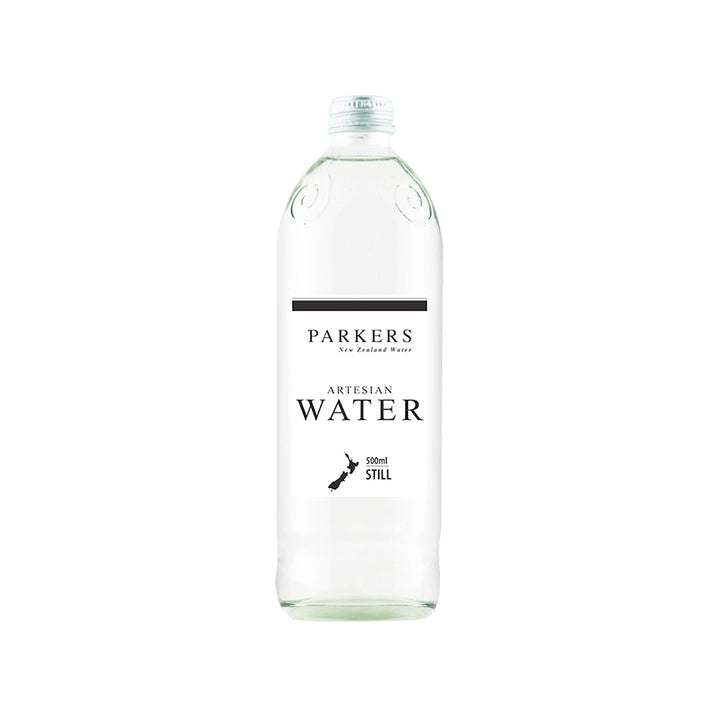 Parkers Water, 500ml Glass Bottles | 12 Pack