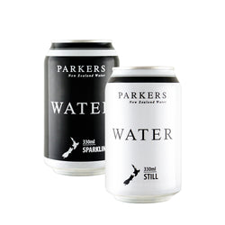 Parkers Water, 330ml Cans | 24 Pack