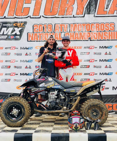 Logan Stanfield - Nine6Nine - Podium Finish - Indiana - 2018 ATV MX National Championship