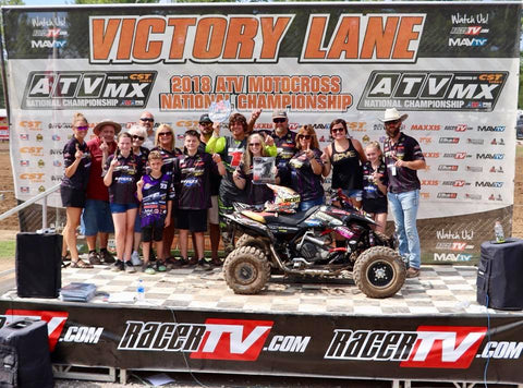 Cole Wullenweber - Nine6Nine - National Champion - Loretta - 2018 ATV MX National Championship