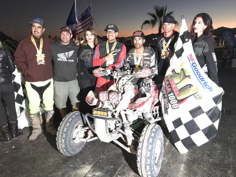 Team 109A & Juan Pirruñas Dominguez take 2nd place in the 50th Baja 100