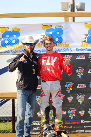 Logan Stanfield and Travis Moore - Nine6Nine - Podium Finish - Texas - 2018 ATV MX National Championship