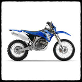 Yamaha WR 450F Full Single Exhaust System for 2007-2011 Models