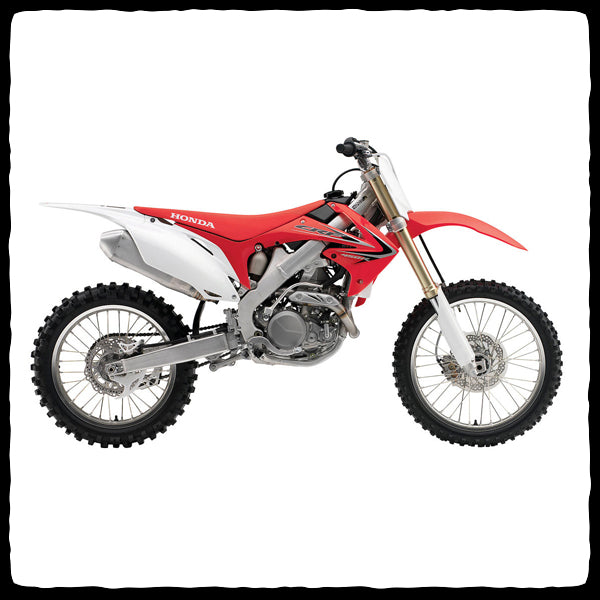Honda CRF450R Full Single Exhaust System for 2009-2012 Models