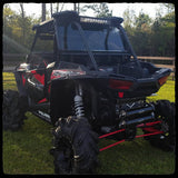 2017 Polaris RZR XP 1000 - Barker's Dual Exhaust Black Back Shot