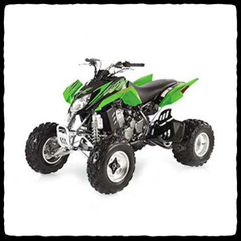 Barker's Exhaust System for Arctic Cat DVX 400