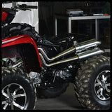 Yamaha Grizzly/Kodiak 700 Full Dual Exhaust System for 2016 Models
