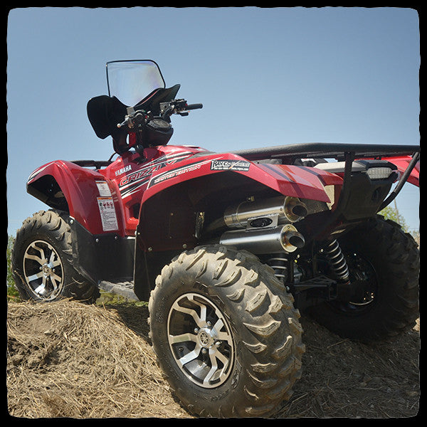 Yamaha Grizzly Kodiak 700 Dual Exhaust System For 2016