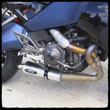 Barker's Slip-On Exhaust Installed on Buell 1125R