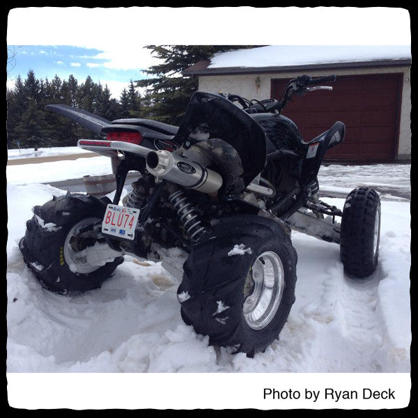 Barker's Honda TRX 700 ATV Full Single Exhaust System – Barker's ...