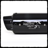 Barker's Exhaust Black Can