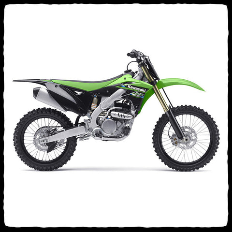 Kawasaki KX 250F Full Single Exhaust System