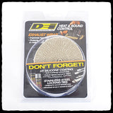 DEI Standard Tan Exhaust Wrap in Packaging - Front