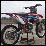 Honda CRF450R Full Single Exhaust System for 2017-2019 Models