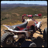 Ivan Perez - Barker's Exhaust TRX 450 Desert Mountain Shot - Pre-Run Baja 500