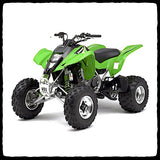 Kawasaki KFX 400 ATV Full Single Inframe Exhaust System