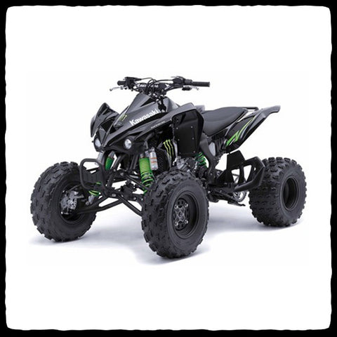 Kawasaki KFX 450 ATV Full Single Inframe Exhaust System