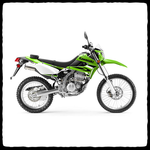 Kawasaki KLX 250 Full Single Exhaust System