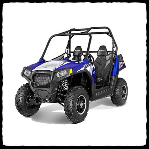 Polaris RZR 800 Dual Exhaust System