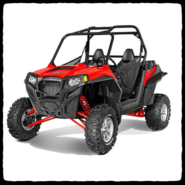 Polaris RZR XP 900 UTV Full Dual Exhaust System