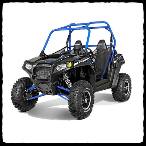 Polaris RZR S 800 UTV Full Dual Exhaust System