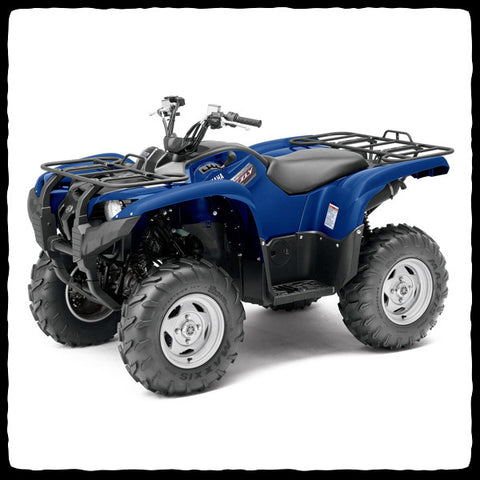 Yamaha Grizzly 700 ATV Single Slip-On Exhaust System