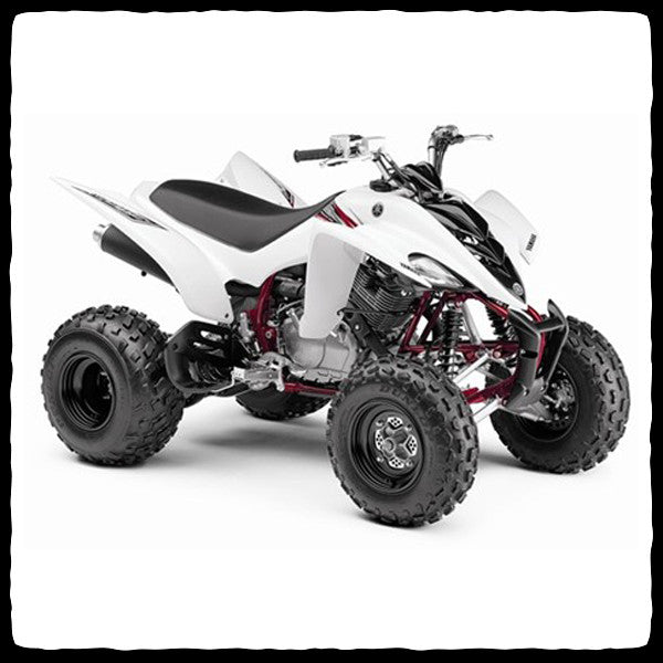yamaha raptor 350 atv full single exhaust system barker 39 s exhaust barker 39 s performance. Black Bedroom Furniture Sets. Home Design Ideas